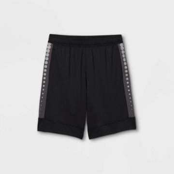 Boys' Basketball Shorts - All In Motion Black/silver