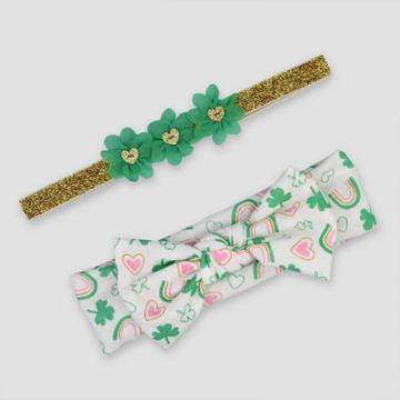 Baby Girls' 2pc Bow Headband - Just One You Made By Carter's