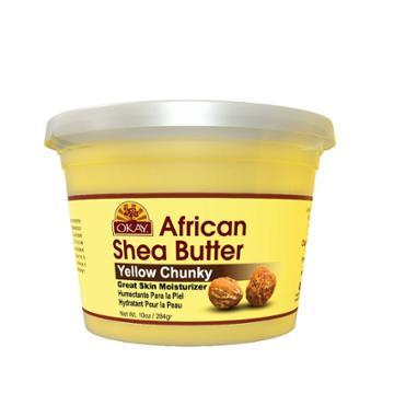 Okay African Shea Butter - Yellow Chunky