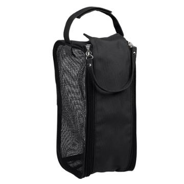 Hanging Shower Dopp Kit Black - Bath Bliss