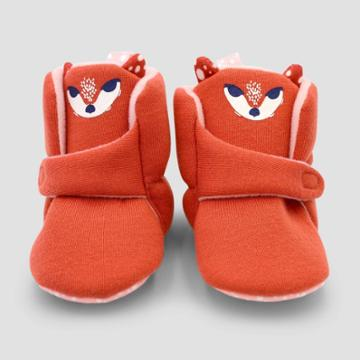 Baby Girls' Fawn Constructed Bootie Slipper - Cat & Jack Brown