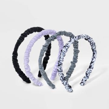 Girls' 4pk Tie-dye Headband - Art Class