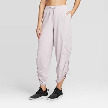Women's High-waisted Stretch Woven Pants - Joylab Stone Gray Xs, Women's, Grey Gray