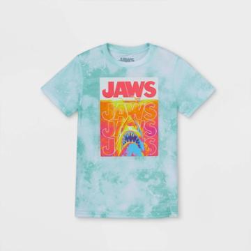 Boys' Jaws Short Sleeve Graphic T-shirt - Green