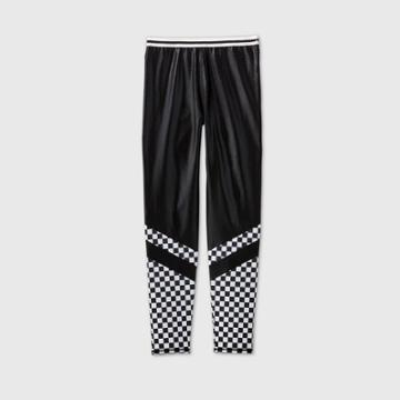 More Than Magic Girls' Checkered Gymnastics Leggings - More Than