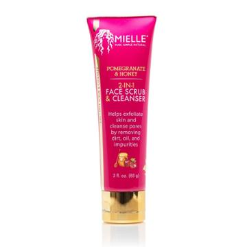 Mielle Organics 2 In 1 Our Pomegranate Honey Face Scrub And Cleanser