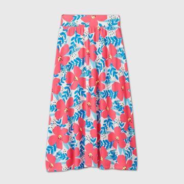 Girls' Floral Maxi Skirt - Cat & Jack Xs, Girl's,