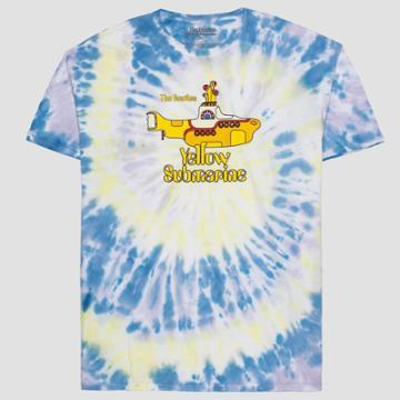 Women's The Beatles Yellow Submarine Plus Size Boyfriend Fit Short Sleeve Graphic T-shirt - 1x, Women's, Size: