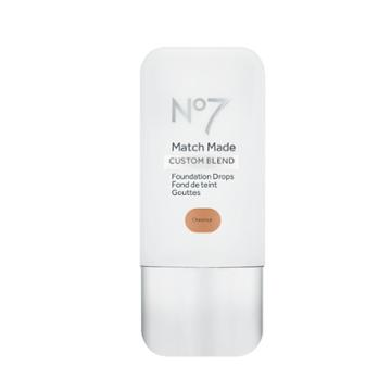 No7 Match Made Foundation Drops Chestnut (brown)