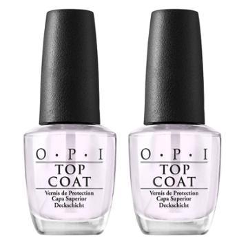 Opi Nail Polish Top Coat/top Coat - 2pk, Adult Unisex