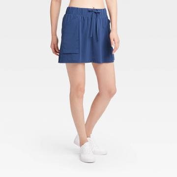 Women's Move Stretch Woven Skorts 16 - All In Motion Blue