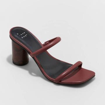 Women's Cass Heels - A New Day Burgundy