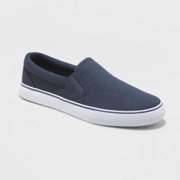 Men's Philip Twin Gore Sneakers - Goodfellow & Co Navy 7,