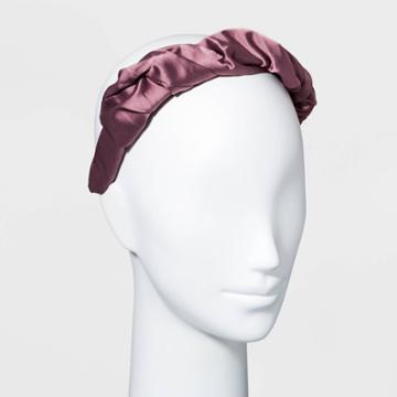 Satin Puff Scrunch Headband - A New Day