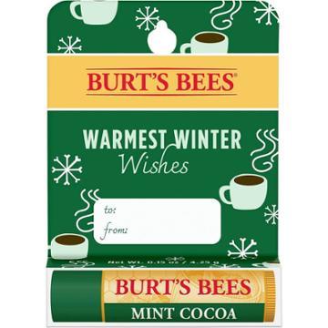 Burt's Bees Warmest Winter Wishes Lip Balm - Mint Cocoa