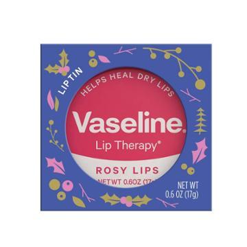 Vaseline Rosy Exclusive Holiday Lip Tin