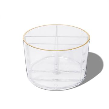 Sonia Kashuk Cylinder Makeup Brush Cup - Clear, Adult Unisex