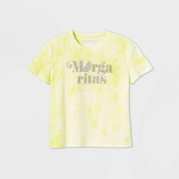 Fifth Sun Women's Margaritas Short Sleeve Graphic T-shirt - Green