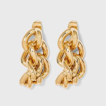 Linked Jacket Earrings - A New Day Gold