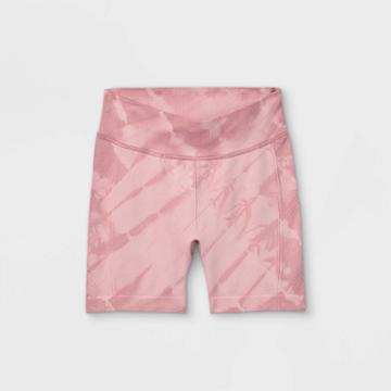 All In Motion Girls' 5 Seamless Bike Shorts - All In