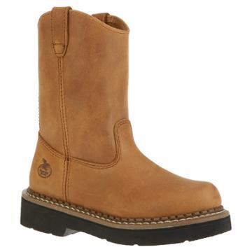 Georgia Boot Boys' Pull On Boots - Tan