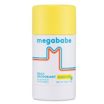 Megababe Sunny Pits Daily Deodorant - 2.6oz, Adult Unisex