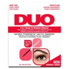 Duo Adhesive 2in1 Lash Brush On Clear&dark - 0.18oz, Clear & Dark