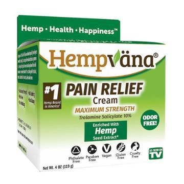 As Seen On Tv Hempvana Pain Cream
