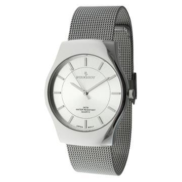Peugeot Watches Peugeot Men's Mesh Bracelet Watch -
