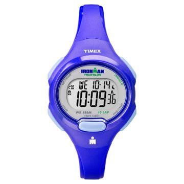 Women's Timex Ironman Essential 10 Lap Digital Watch - Blue T5k784jt