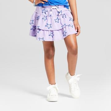Girls' Scooter Skirt - Cat & Jack Violet