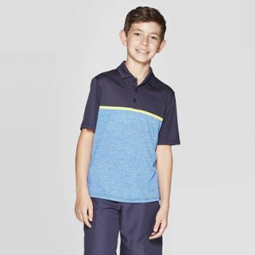Boys' Chest Stripe Golf Polo Shirt - C9 Champion Navy (blue)