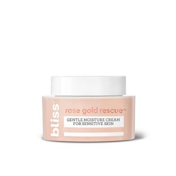 Bliss Rose Gold Rescue Gentle Moisture Cream For Sensitive Skin