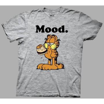 Ripple Junction Men's Garfield Short Sleeve Graphic T-shirt - Heather Gray S, Men's,