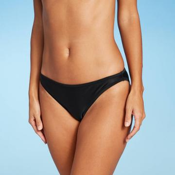 Juniors' Cheeky Bikini Bottom - Xhilaration Black