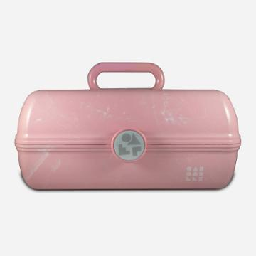 Retro Caboodles On The Go Girl-pink Marble, Rose