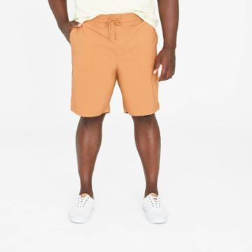 Men's Big & Tall 9 Utility Woven Pull-on Shorts - Goodfellow & Co Yellow