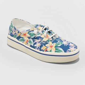 Women's Mad Love Kendra Lace Up Canvas Sneakers - Blue