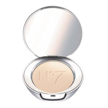 No7 Lift & Luminate Triple Action Translucent Finishing Powder Light - .30oz, Beige
