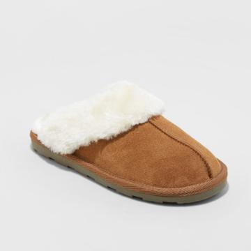 Gilligan & O'malley Women's Chandra Slide Slippers Chestnut (brown)
