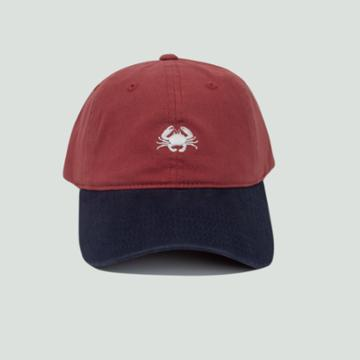 Concept One Men's Crab Dad Hat - Red