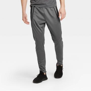 Men's Run Knit Pants - All In Motion Gray M, Men's,