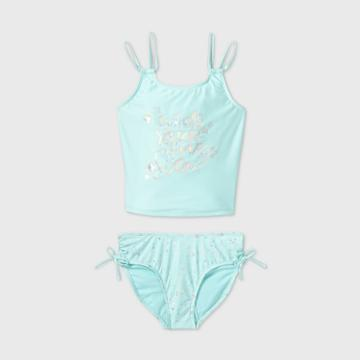 More Than Magic Girls' Star Sign Tankini Set - More Than