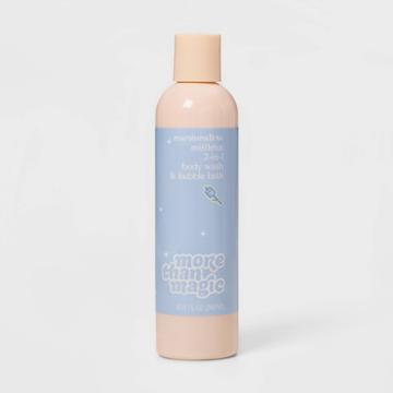 More Than Magic Marshmallow Mistletoe Holiday Body Wash And Bubble Bath - 8.11 Fl Oz - More Than