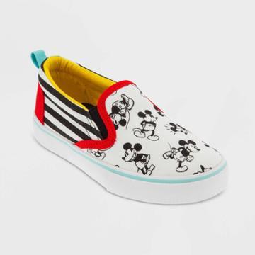 Boys' Disney Mickey Mouse Sneakers - White 9 - Disney