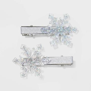 No Brand Snowflake Metal Pelican Hair Clips And Pins -