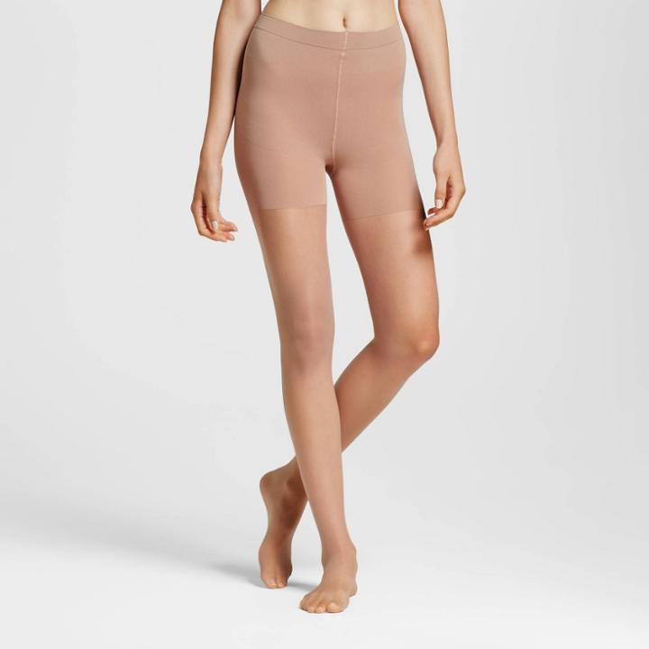 Maidenform Women's Power Slimming Pantyhose - Nude S, Women's, Size: