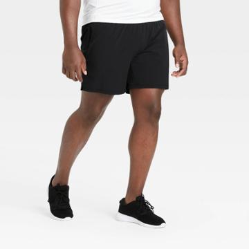 Men's Stretch Woven Shorts - All In Motion Black S, Men's,