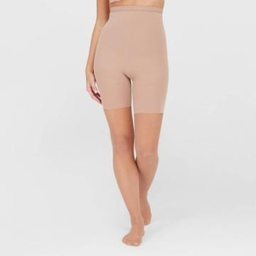 Assets By Spanx Women's High-waist Perfect Pantyhose - Nude Champagne