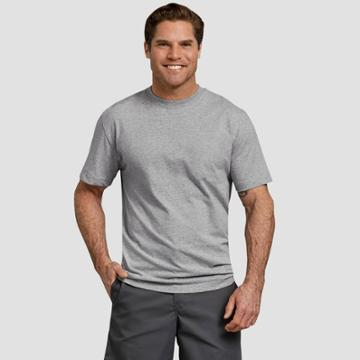 Petitedickies Men's Big & Tall Short Sleeve T-shirt - Heather Gray